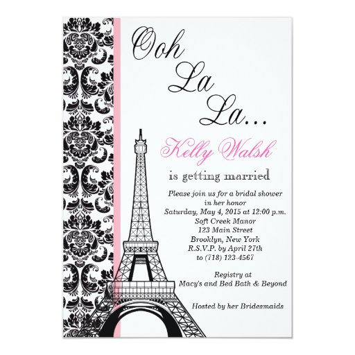 Bridal Shower Invitation Maker