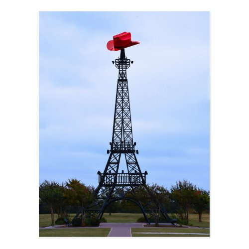 Howdy from the Eiffel Tower in Paris, Texas