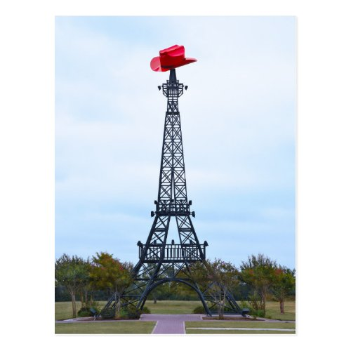 Eiffel Tower, Paris, Texas Postcard