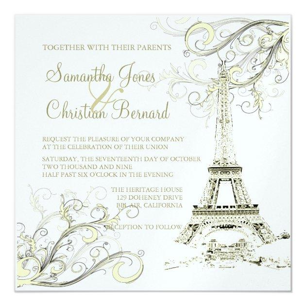 Wedding Invitations Capital Letters