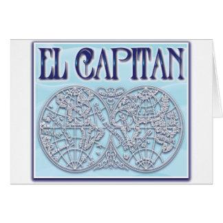 """El Capitan"" Greeting Cards"