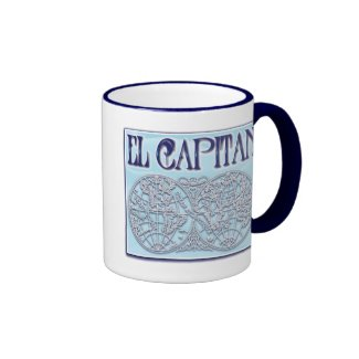 """El Capitan"" Ringer Mug"