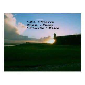 El Morro Fort Postcard