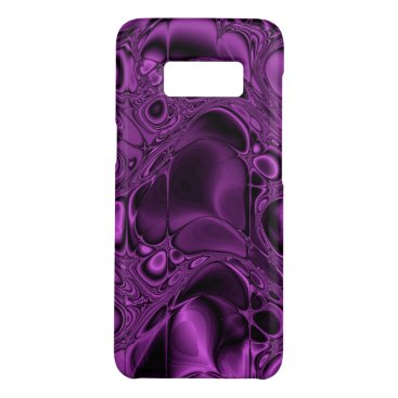 Electric Violet Purple and Black Case-Mate Samsung Galaxy S8 Case