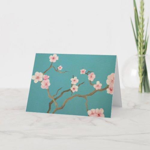 Elegant Blossom Card