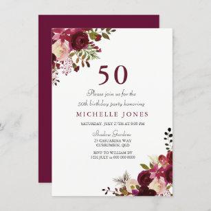 fabulous 55th birthday invitations zazzle