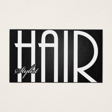Elegant Hair Stylist Business Cards