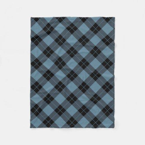 Elegant Plaid | Holiday Fleece Blanket