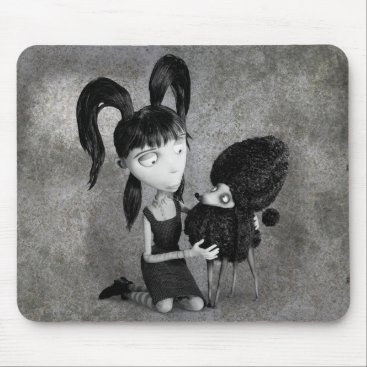 Elsa and Persephone Mouse Pad