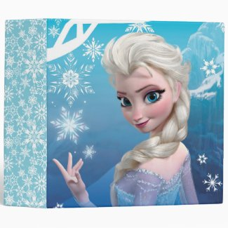 Elsa the Snow Queen Binders