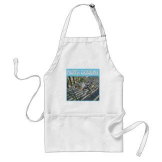Emerald Isle Beach Seashell Collection Apron