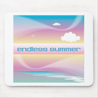 Endless Summer Pastels Mousepad