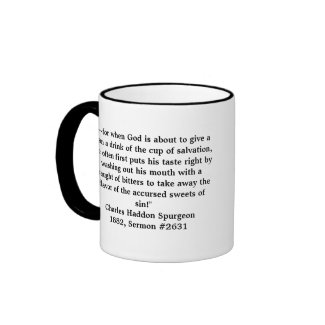 Essential Spurgeon Ringer Mug mug