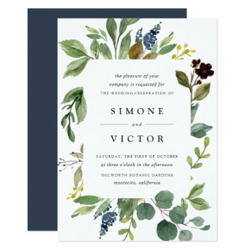 Eucalyptus Grove Wedding Invitation