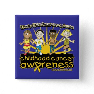 Every Child Deserves A Future Childhood Cancer button