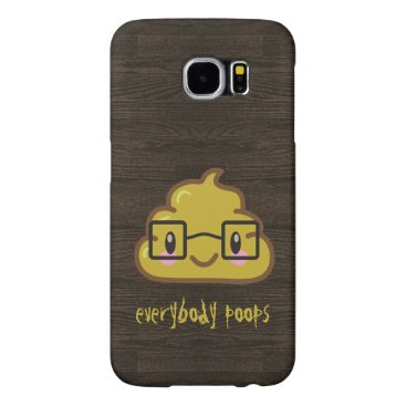 everybody poops - featuring Smarty Poo Samsung Galaxy S6 Case