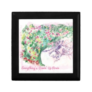 Everything's Comin' Up Rosie Keepsake Boxes