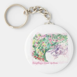 Everything's Comin' Up Rosie keychain