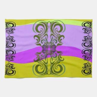 Exotic Pattern Towel mojo_kitchentowel