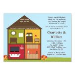 Fall Around the House Shower Bridal Shower Invitation