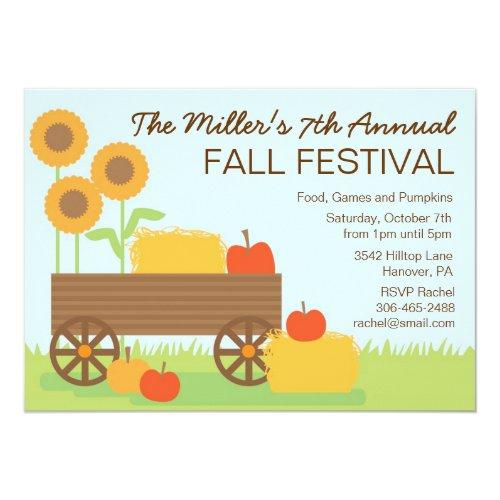 Fall Festival Party Invitation
