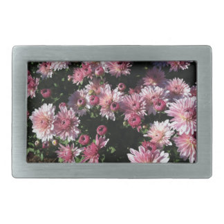 Fall Mums At Sunset Belt Buckle