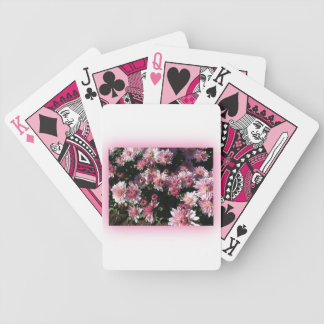 Fall Mums At Sunset Bicycle Playing Cards