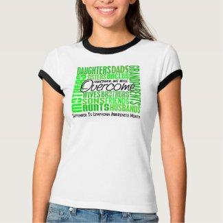 Family Square Lymphoma Awareness Month Shirt