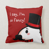 Fancy Llama Pillow