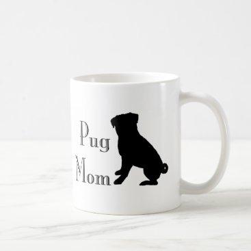 Fancy Pug Mom Coffee Mug
