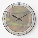 Farm - Life on the farm 1940s Wallclocks