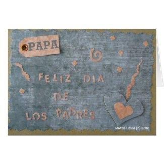 Feliz Dia de Los Padres - Papa (Personalize) Card