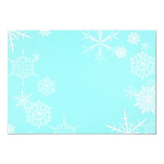 Festive Snowflake Card Envelope