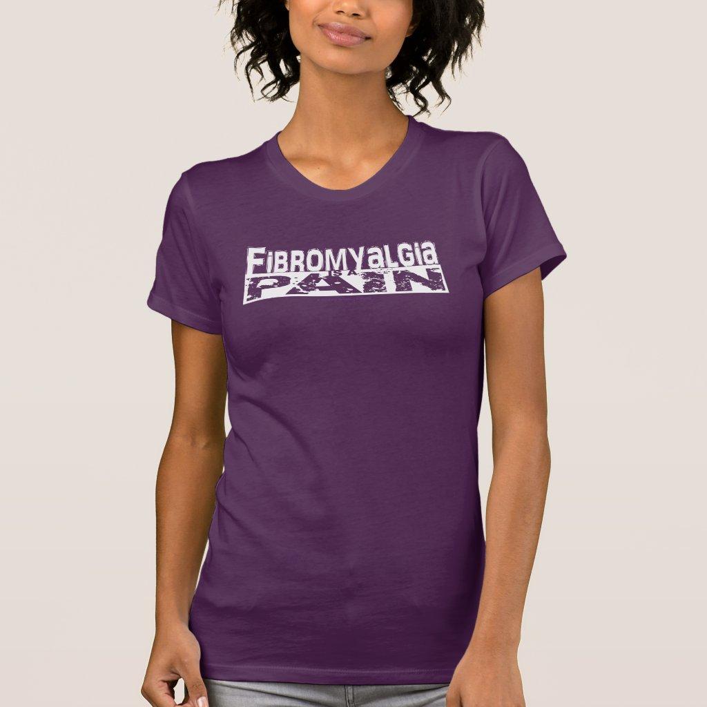 Fibromyalgia is a Pain Dark Shirt White Graphic