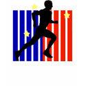 Filipino Runner Stripes shirt