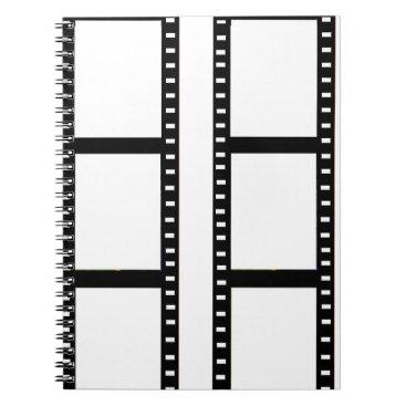 """""""film strip"""" photo collage notebook"""
