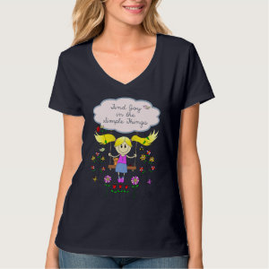 Find Joy in Simple Things T-shirts