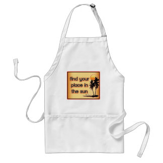 Find Your Place In The Sun Apron