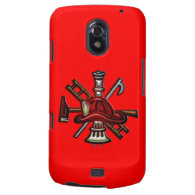 Firefighter Fire and Rescue Department Emblem Samsung Galaxy Nexus Cases
