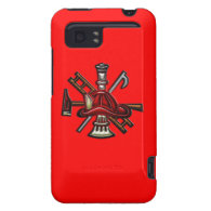 Firefighter Fire and Rescue Department Emblem HTC Vivid / Raider 4G Cover