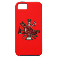 Firefighter Fire and Rescue Department Emblem iPhone 5 Covers