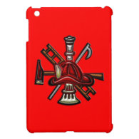 Firefighter Fire and Rescue Department Emblem iPad Mini Case