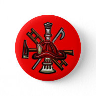Firefighter Fire and Rescue Department Emblem Pins