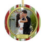 First Christmas Together Photo Christmas Ornament ornament