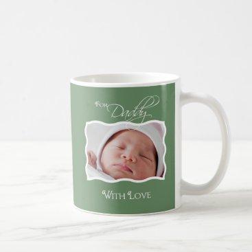 First Father's Day - Custom Photo Mug