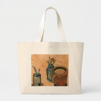 First Thing in the Morning CricketDiane Coffee Art Tote Bag