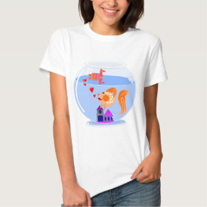 Fish bowl love.jpg t-shirt