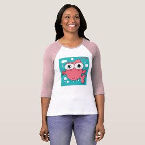 Fish(Light Pink)Women's T-Shirt