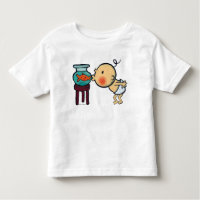 Fishbowl Kisses Orange Goldfish Toddler T-shirt