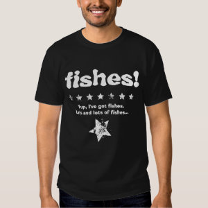 FISHES Funny I have pet fish V07 Shirt